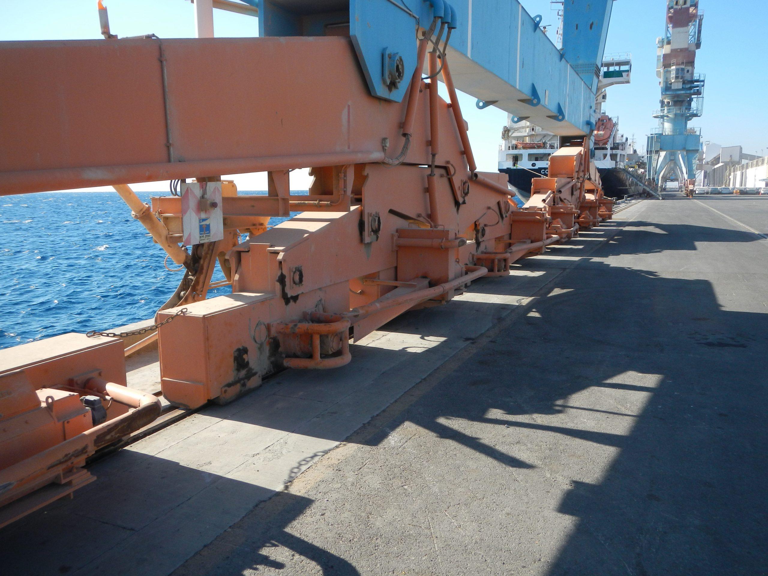 סקר הנדסי בנמל אילת